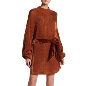 Slouchy, FREE PEOPLE Sweater Dress